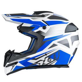 Capacete X11 Atomic Bull Motocross Trilha Bike Cross Moto