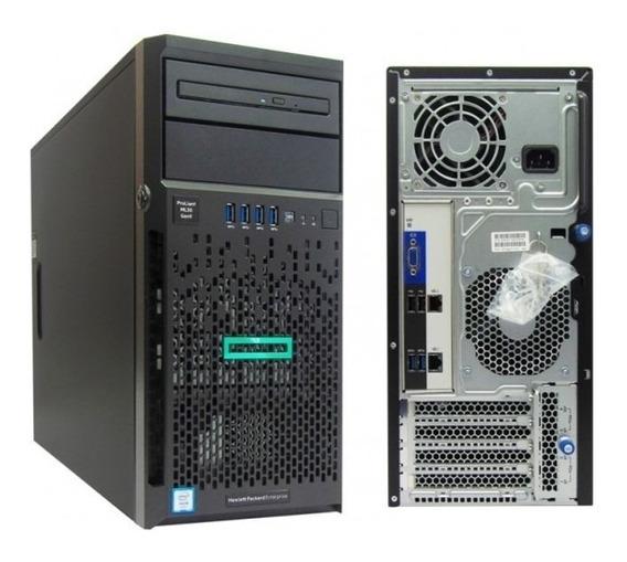 Servidor Hp Proliant Ml30 G9 Xeon E3-1220v5 16gb Hdd 2x2tb