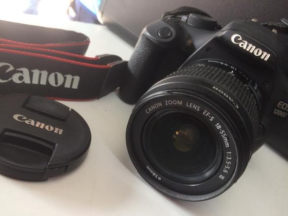 Câmera Canon Eos 1200d + Lente 18-55mm + Cartão