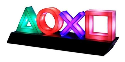 Luminária Playstation Icons Light Decorativa Com Led