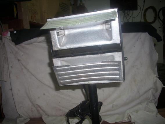 Iluminador Antigo De Bastao C/2 Refletor 127wts S/ Lampada