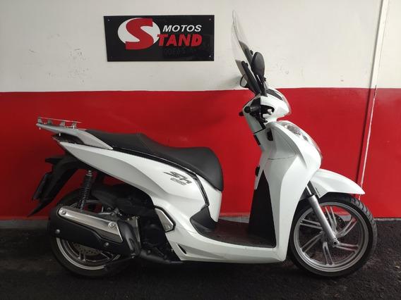 Honda Sh 300i 300 I Abs 2016 Branca Branco