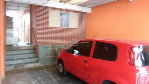 Casa À Venda, 2 Quartos, 2 Vagas, Tibiriçá - Santo André/sp - 99222