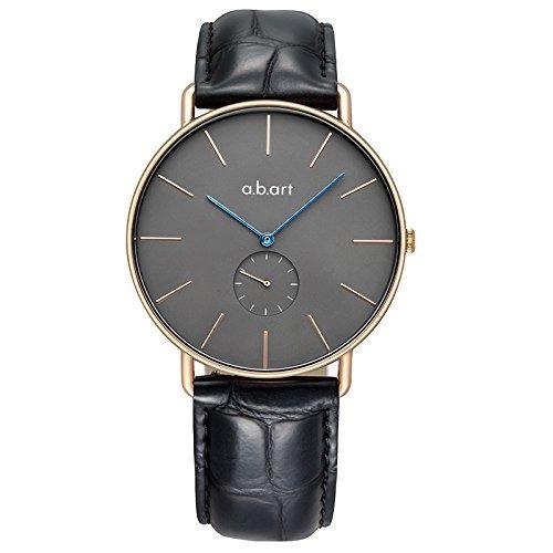 Abart Fr41003 Rose Gold Case Esfera Gris Relojes Para Hombre