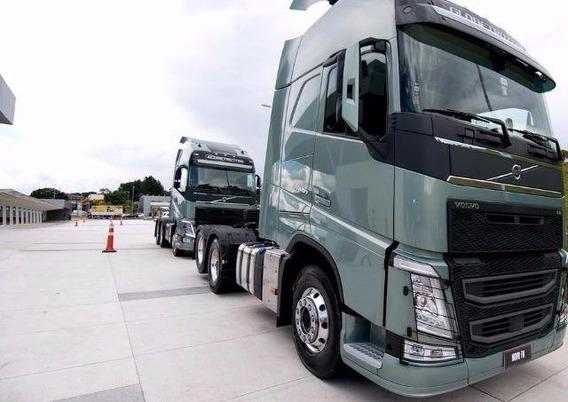 Volvo Fh 540 6x4/6x2 Globetrotter 20% Entrada+financiamento