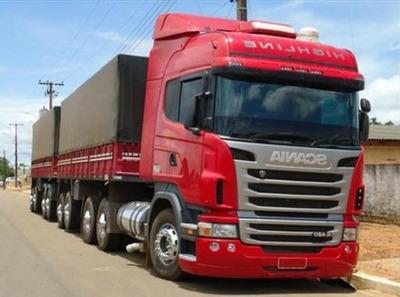 Scania R 480 6x4 Bitrem Completa Ano 2017/18
