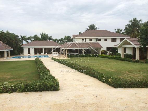 Coalición Vende Villa # 8 En Casa De Campo 10k, 2k Const Vip