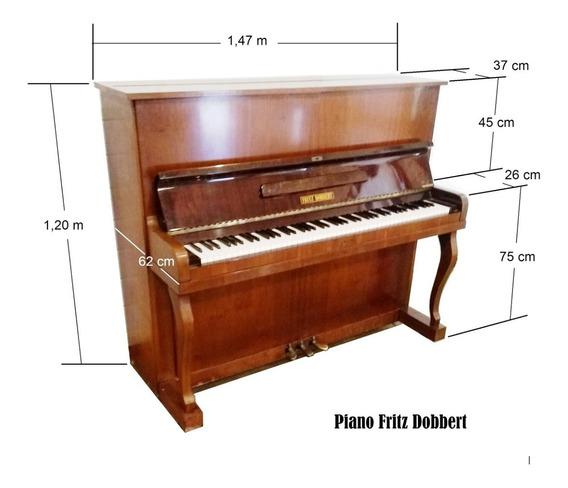 Piano Fritz Dobbert Fd 115 Novo