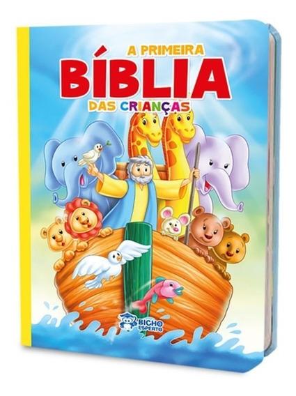 Bíblia Infantil Ilustrada Indicada Para Crianças + Brinde