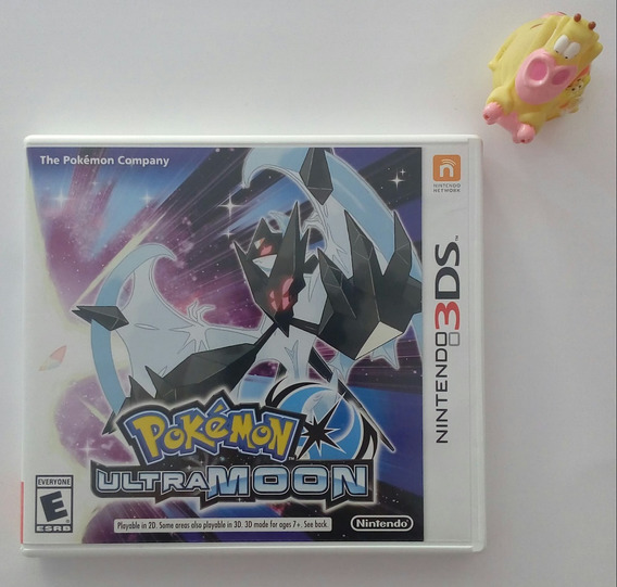Pokémon Ultra Moon Nintendo 3ds * Mundo Abierto Vg *