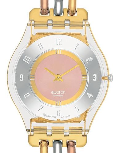 Reloj Swatch Skin Sfk240a Extraplano Dama 100% Original