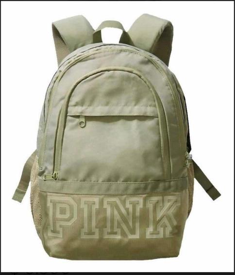 Mochila Pink Victorias Secret Importada De Eeuu