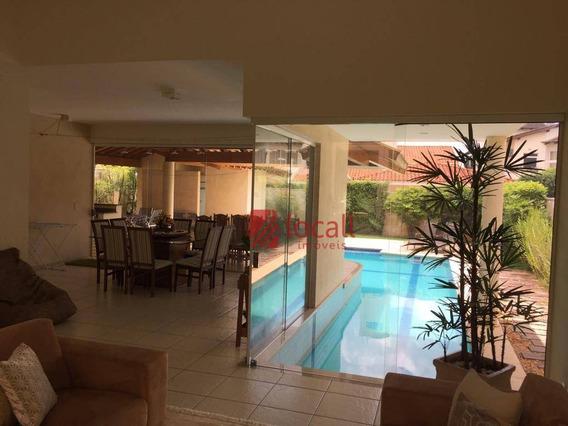 Casa Residencial À Venda, Parque Residencial Damha I, São José Do Rio Preto. - Ca1743