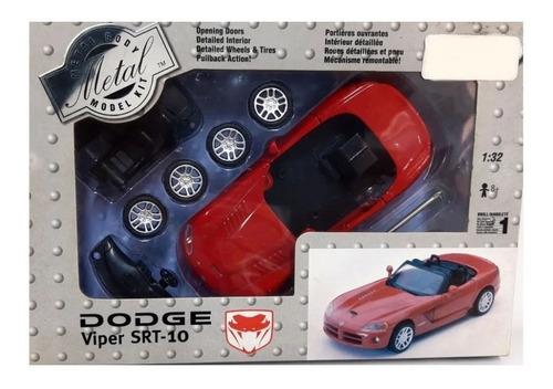 Imagem 1 de 1 de Dodge Viper Srt-10 Escala 1:32 Metal Qik-build Testor 630016