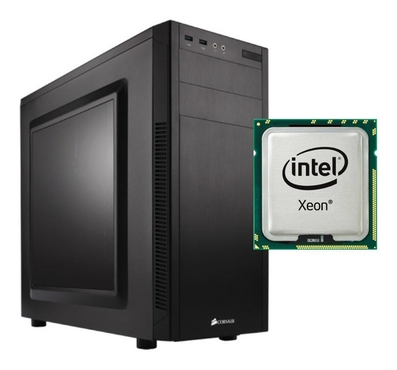Servidor Intel Xeon E3-1245v6 3.7ghz 16gb Ram