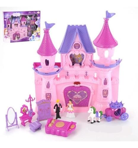 Imagen 1 de 4 de Castillo De Princesas,  12 Piezas Con Sonidos Bestoys