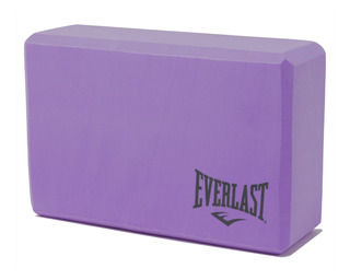 Cubo Bloque De Yoga Everlast Pilates Espuma Ladrillo