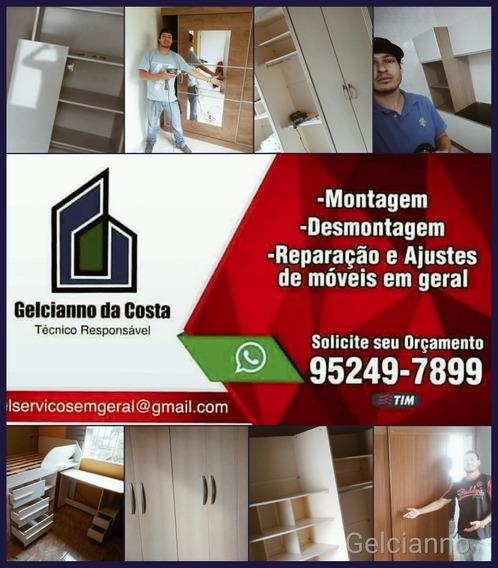 Montagem De Moveis Em Santo Andre Sbc Scs Sp Montador Profis