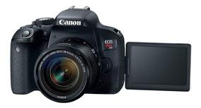 Câmera Canon T7i + Lente 18-55 Stm Pronta Entrega