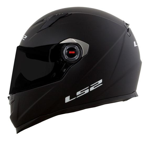 Capacete Ls2 Ff358 Preto Fosco Capacete Moto 4 Estrelas Sharp