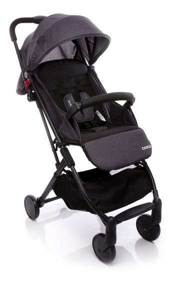 Carrinho De Bebê Pocket Clever Cosco - Preto Mescla