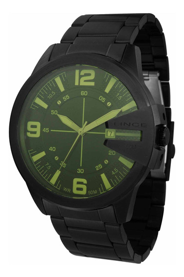 Relógio Lince Mrn4486s P2px Masculino Preto - Refinado