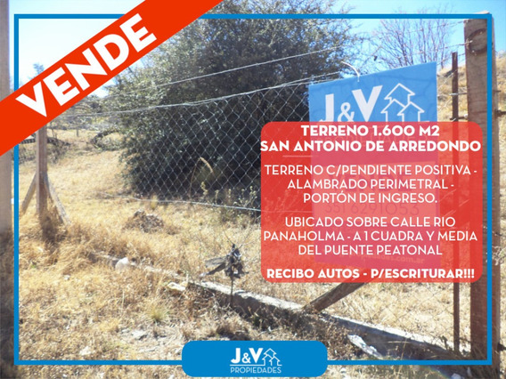 Terreno Venta San Antonio De Arredondo