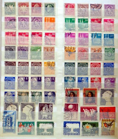 Alemania, Colección De 910 Sellos + 8 Bloques Usados L8914
