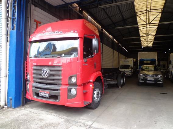 Caminhão Vw 24.250 Teto Alto 2010 Vermelho Truck Chassis