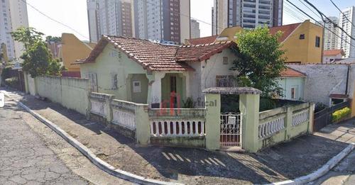 Terreno À Venda, 200 M² Por R$ 640.000,00 - Chácara Santo Antônio - São Paulo/sp - Te0546