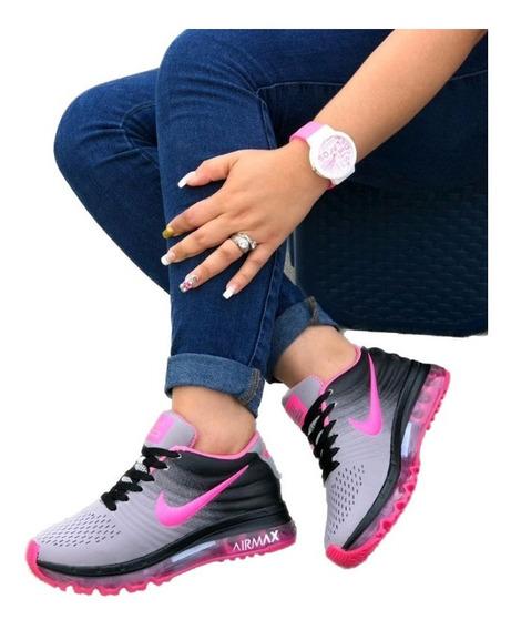 Tenis Mujer Nike Lindos Zapatos Promoción Envío Gratis