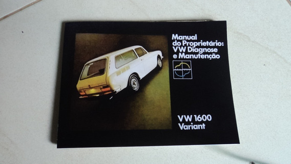 Variant 1976 / 1977 Manual Original Capa Nova