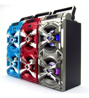 Caixa Som Amplificada 20w Recarregavel Usb Mp3 Bluetooth A70