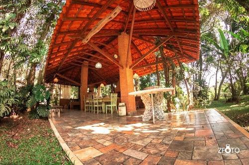 Imagem 1 de 6 de Chácara Com 3 Dormitórios À Venda, 6000 M² Por R$ 1.600.000,00 - Jardim Tupã - São Bernardo Do Campo/sp - Ch0005