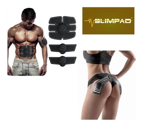 Slim Pad Gratis + Gluteos Pack Original Electroestimulacion