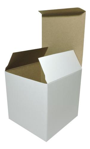 Caja Para Taza 1 X 100u Packaging Blanco Madera Taz1
