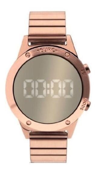 Relógio Euro Feminino Rose Espehado Eujhs31bac/4d - Digital