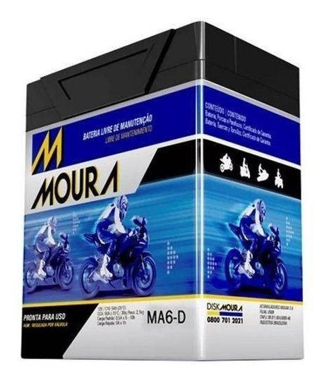 Bateria Cb 300 R Flex Cbx 250 Twister Falcon 400 Moura 0501a