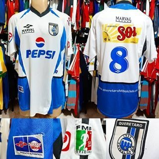 Camisa Queretaro-mex - Marval - Gg - 2008 - N° 8