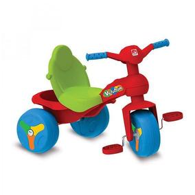 Triciclo Veloban Vermelho Brinquedos Bandeirantes Vermelho
