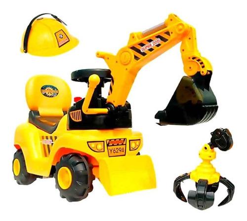 Imagen 1 de 6 de Buggy Infantil Tractor Retro Con Accesorios