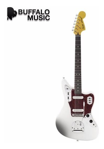 Guitarra Eléctrica Squier Jaguar Olympic White 030-2000-505
