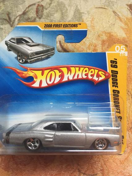 Bx124 Hw Hot Wheels 2008 Dogde 69 Coronet Super Bee Cinza