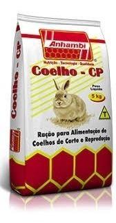 Ração De Coelho Anhambi 5kg !!! Promoção