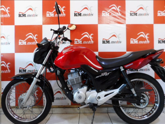 Honda Cg 150 Start 2015 Flex Vermelha Partida Eletrica Usada