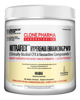 Nitraflex Clone Pharma 300g Pré Treino Importado Concentrado