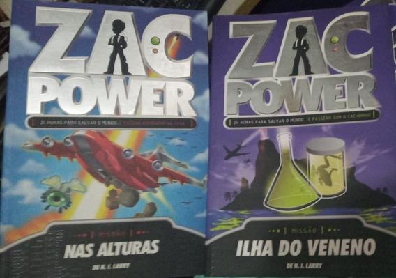 Zac Power Nas Alturas + Ilha Do Veneno - H. I. Larry 800