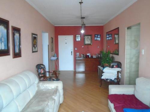 Apartamento À Venda, 110 M² Por R$ 390.000,00 - Marapé - Santos/sp - Ap5603