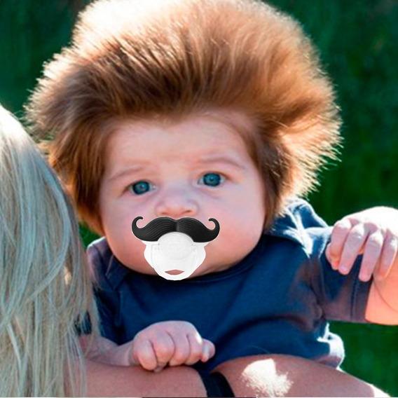 Chupeta Engraçada Bebe Monstro Divertido Engraçado Infantil