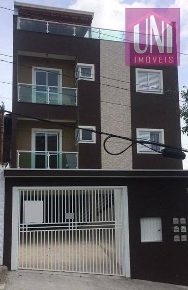 Cobertura Residencial À Venda, Santa Maria, Santo André. - Co0572